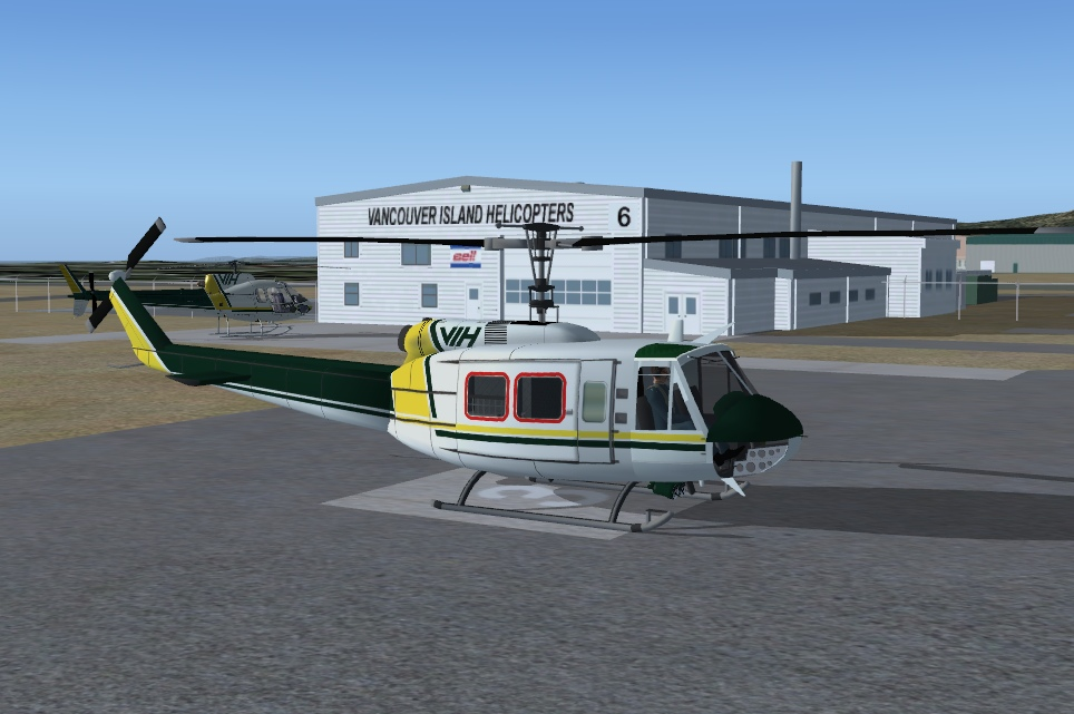 Stuff 4FS - Vancouver Island Helicopters Bell 205 (Huey)
